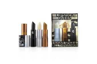 Lipstick Queen Sugar Spice & All Things Nice Lipstick Set : (1x Ice Queen, 1x Queen Bee, 1x Black Lace Rabbit) 3x3.5g
