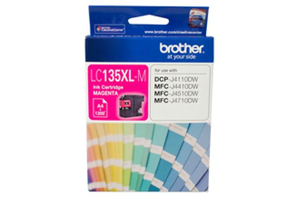 Brother LC-135XLM Magenta Ink 1200pages