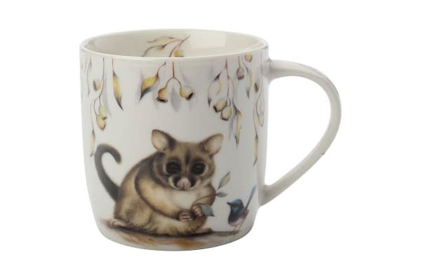 Maxwell & Williams Sally Howell 340ml Mug Cup Tea Coffee Tin GB Brushtail Possum