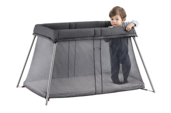 BabyBjorn Easy Go Travel Cot (Anthracite Mesh)