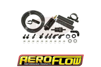Aeroflow Fitech EFI Fuel Delivery Kit Up To -650Hp