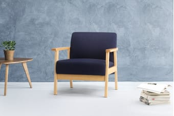 Ovela Regina Armchair (Midnight Blue)
