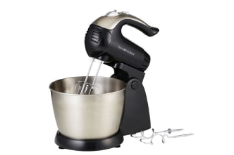 Davis & Waddell 200W Electric Bench top Stand Mixer Whipper Beater w Hooks Black