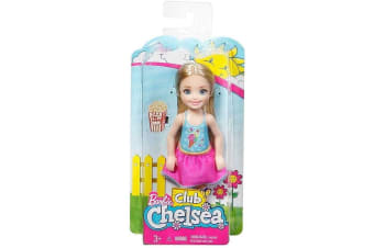 Barbie Club Chelsea Doll - Movie Night