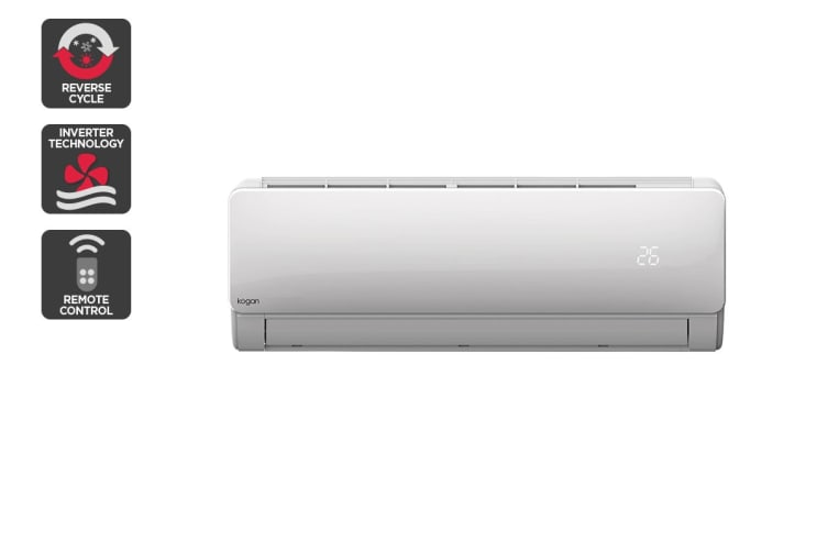 Kogan 5.2kW Split System Inverter Air Conditioner (18,000 BTU, Reverse Cycle)