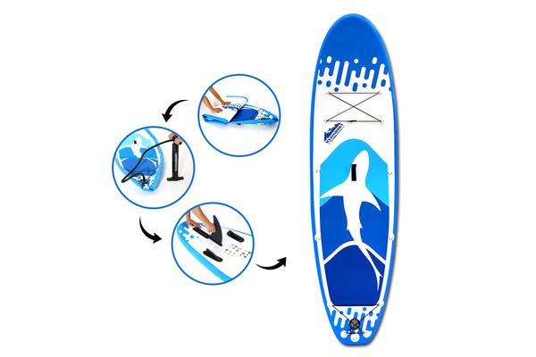 Weisshorn 10FT Stand Up Paddle Board (Blue)