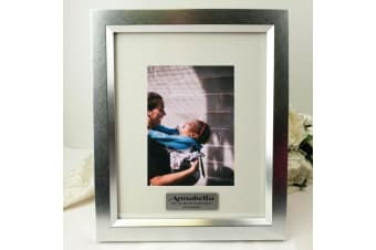 Godmother Personalised Photo Frame 5x7 Photo Silver