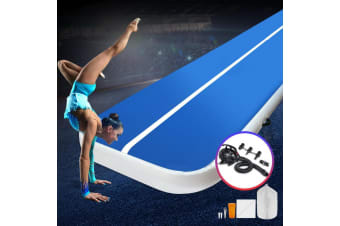 Everfit 7M Airtrack Inflatable Air Track Tumbling Mat Pump Home Gym Gymnastics