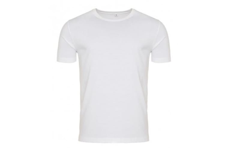 AWDis Mens Washed T Shirt (Washed Arctic) (Extra Small)
