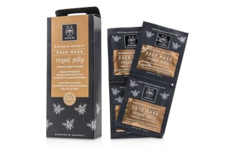 Apivita Express Beauty Face Mask with Royal Jelly (Firming & Revitalizing) 6x(2x8ml)