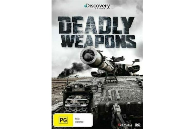 Deadly Weapons (Discovery Channel) - Series Region 4 Rare- Aus Stock Preowned DVD: DISC LIKE NEW
