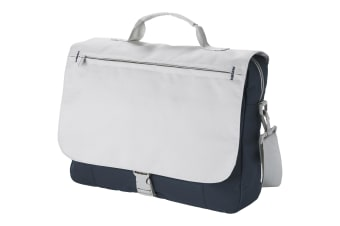 Bullet Pittsburgh Conference Bag (Pack of 2) (Dark Grey/Light Grey) (34 x 8.5 x 26.5cm)