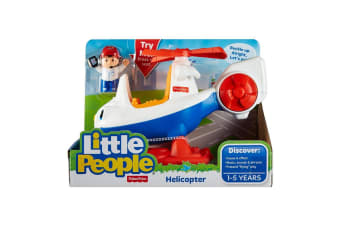 Little People Vehicles - Helicopter