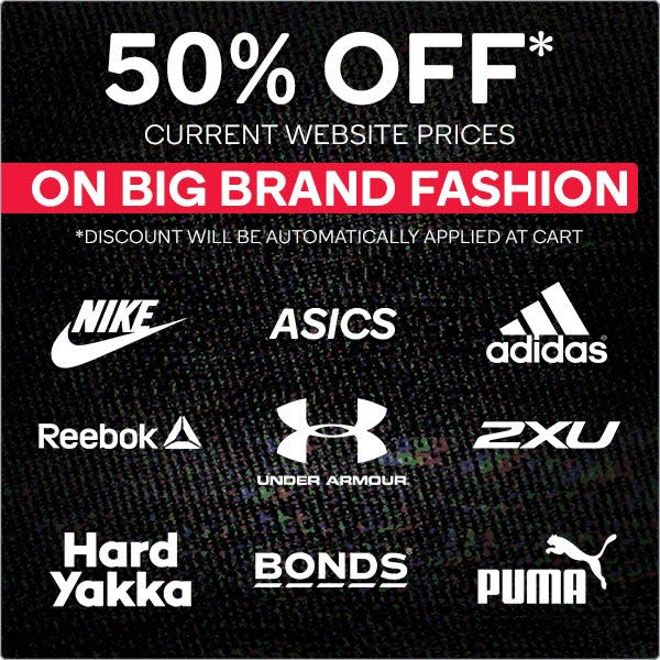 Black Friday - 50% OFF Big Brand Fashion