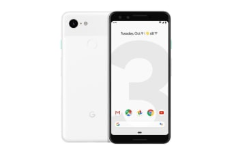 Google Pixel 3 (Clearly White)