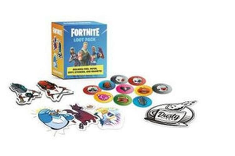 FORTNITE (Official) Loot Pack - Includes Pins, Patch, Vinyl Stickers, and Magnets!