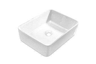 Ceramic Sink Square (White)