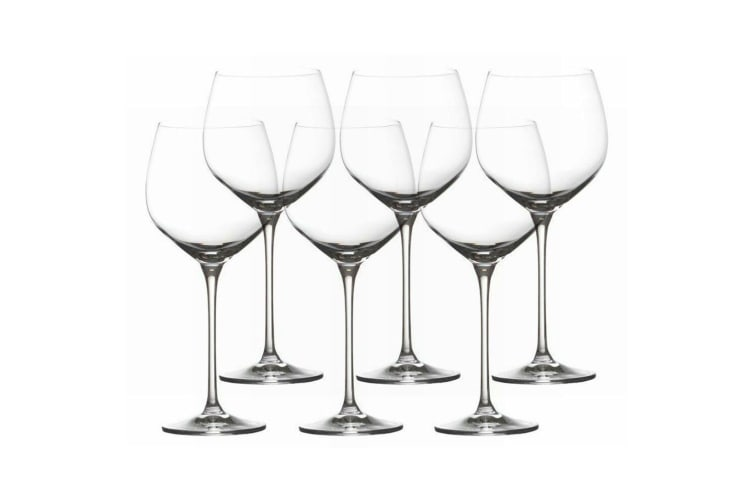 6pc Maxwell & Williams 570ml Vino Red Rose Rosé Wine Glass Glasses Bar Tableware