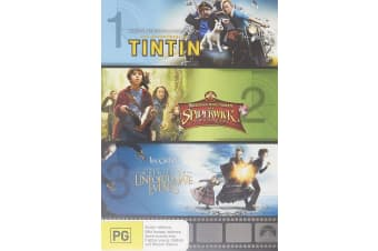 The Adventures of Tintin The Secret of the Unicorn / DVD Region 4