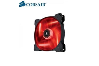 Corsair Air Flow 140mm Fan Quiet Edition w/Red LED 3 PIN - Superior cooling performance and LED illumination