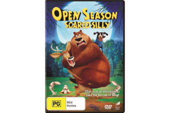 Open Season Scared Silly DVD Region 4