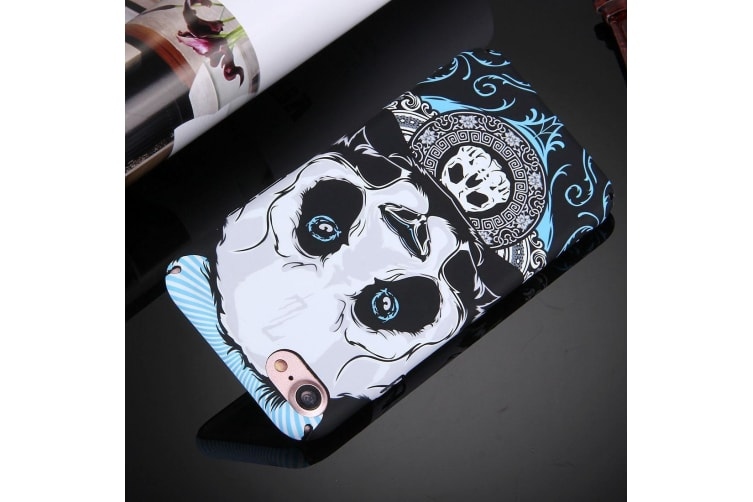 For iPhone 8 7 Case Modish Water Decal Rubberized Durable Protective Cover Panda