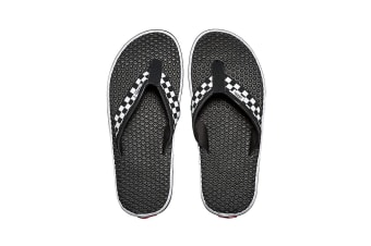 Vans Men's La Costa Lite Sandal (Black/White, Size 12 US)