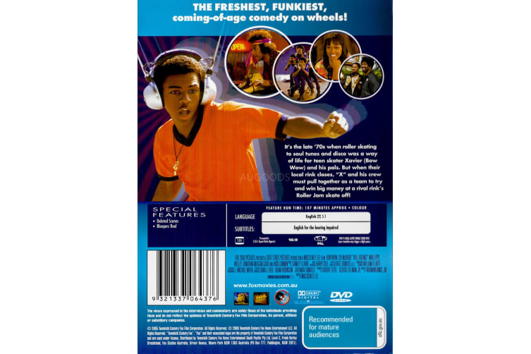 ROLL BOUNCE -Comedy Region 4 Rare- Aus Stock DVD PREOWNED: DISC LIKE NEW