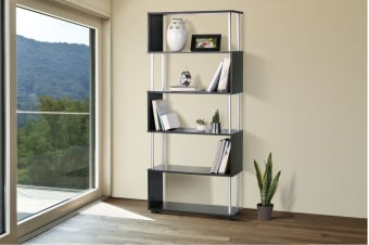 Ovela Snake Shaped Shelf (Black)