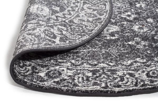 Estella Charcoal Transitional Rug 240x240cm