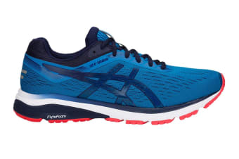 ASICS Men's GT-1000 7 Running Shoe (Race Blue/Peacoat, Size 10.5)