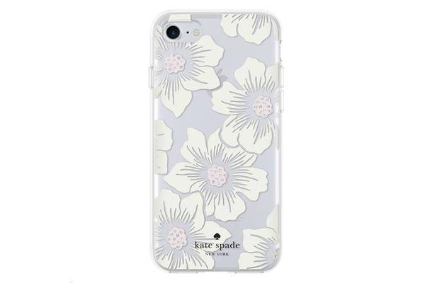 Incipio KSNY iPhone 7 Hardshell Clear Case - Floral Cream