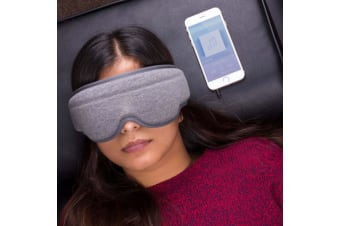 Music Sleep Mask | Black-out Sleep Eye Mask With Built-in Headphones!
