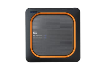 WD My Passport Wireless SSD 1TB Wi-Fi Mobile Storage (WDBAMJ0010BGY-PESN)