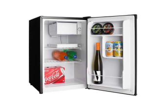 Heller 70L Electric Mini Bar Fridge Home/Office Refrigerator/Cooler/Ice Box Blk