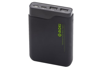 Moki 10000mAh PowerBank with Type C & USB (ACCMPBP100)