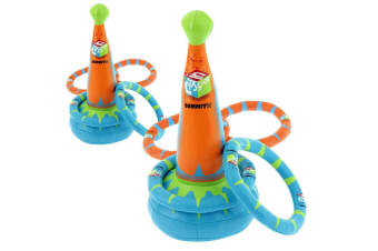 2x Summit Kids/Child 5pc Quoilts Ring Toss Play Set