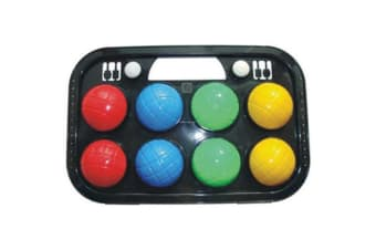 Orbit  8 Piece Bocce Ball Set In Case for beginners 2-4 players