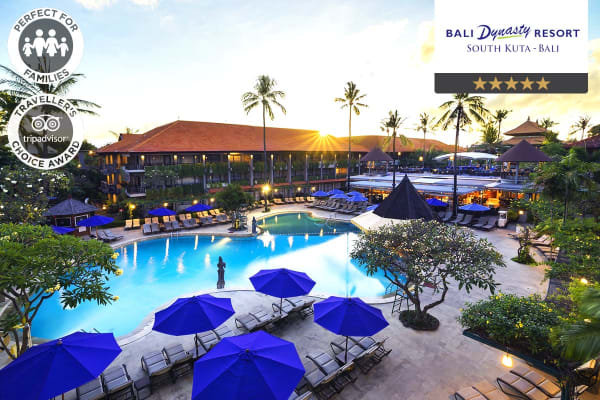 BALI: 10 Nights at Bali Dynasty Resort for Two (Deluxe Family Room)