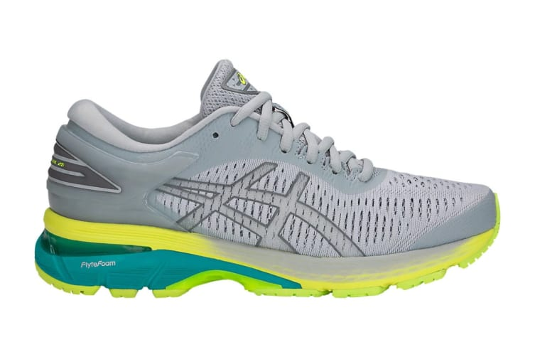 ASICS Women's Gel-Kayano 25 Running Shoe (Mid Grey/Carbon, Size 11)