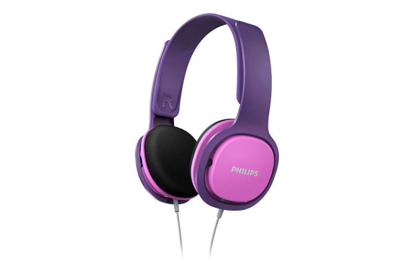 Philips Over Ear Kids Headphones - Pink (SHK2000PK)