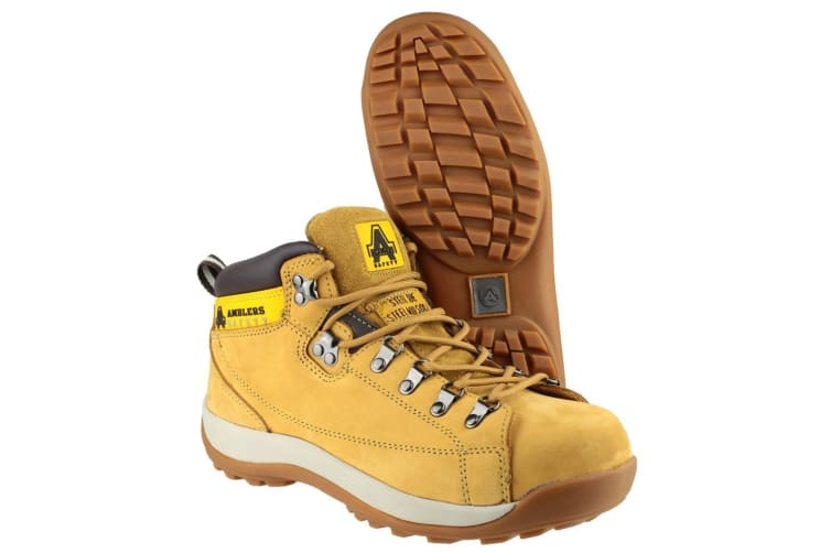 Amblers Steel FS122 Safety Boot / Womens Boots (Honey) (6 UK)