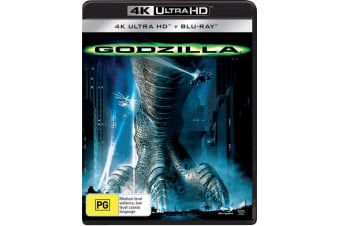 Godzilla 4K with Blu-ray UHD Region B