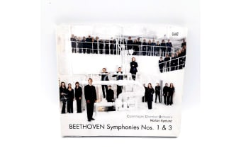Beethoven Symphonies Nos. 1 & 3 opp. 21, 55 Copenhagen Chamber Orches. NEW