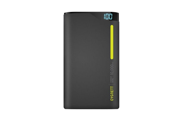 Cygnett ChargeUp 10000mAh Polymer Power Bank - Green (CY1774PBCHE)