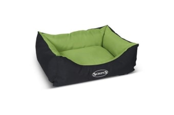 Scruffs Expedition Box Bed (Lime Green)