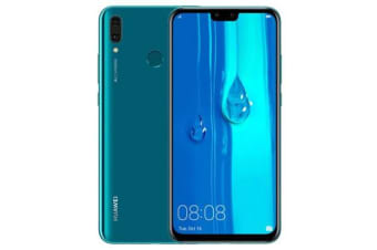 New Huawei Y9 2019 JKM-LX2 Dual SIM 4G 64GB Smartphone Blue (FREE DELIVERY + 1 YEAR AU WARRANTY)