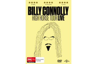 Billy Connolly High Horse Tour DVD Region 4