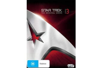 Star Trek the Original Series Season 3 DVD Region 4