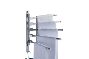 Towel Bars For Bathroom Wall Mounted Swivel Towel Rack Holder